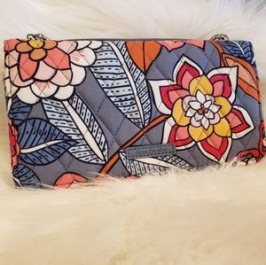 Vera Bradley Tropical Evening Wristlet Wallet